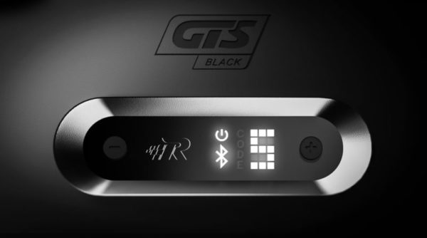 Gts Black Digital User Interface Front