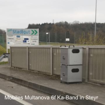 Multanova 6f mobil Steyr