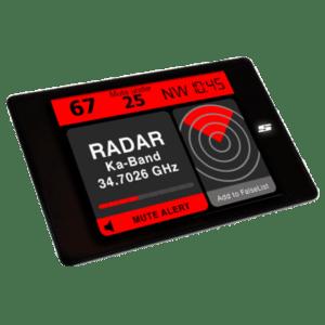 Radarwarner Festeinbau