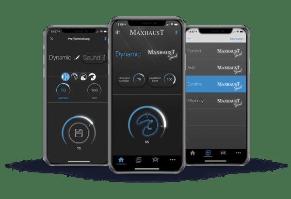 IphoneX Maxhaust App